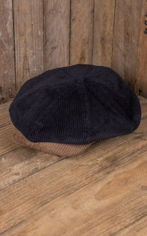 Brixton Brood Snap Cap, cordon bison black