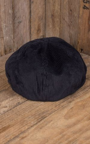 Brixton Brood Snap Cap, Cord bison black