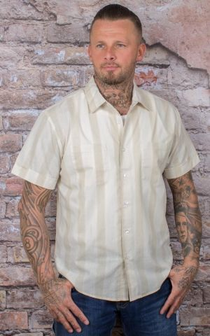 Brixton - Shirt Branson Striped Button Up