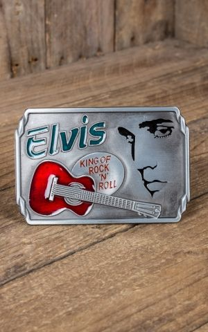 Buckle Elvis - King of Rock and Roll