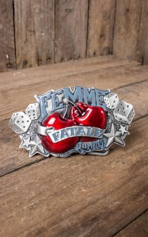 Rumble59 - Boucle de ceinture Femme Fatale
