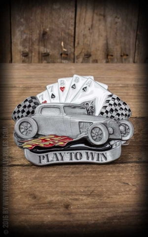 Buckle - Hot Rod Playing cards