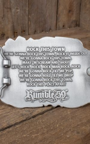 Rumble59 - Buckle Stray Cats - Rock this town
