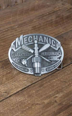 Buckle Vintage Mechanic