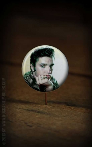 Button Elvis 002