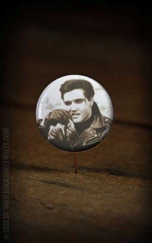 Button Elvis 003