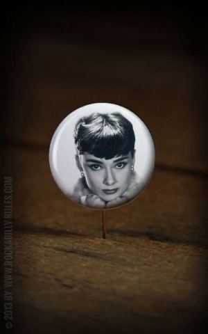 Button Audrey Hepburn 013