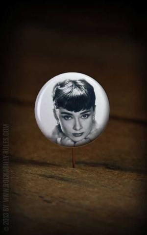 Button Audrey Hepburn 013