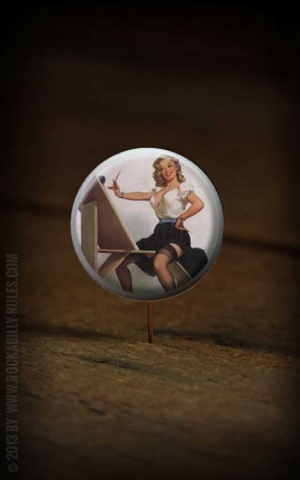 Button PinUp 027