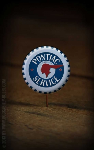 Button Pontiac 106