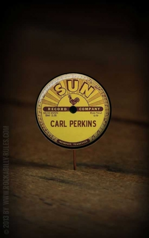 Button SUN Carl Perkins 136
