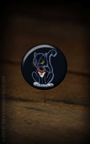 Button Black Cat 151