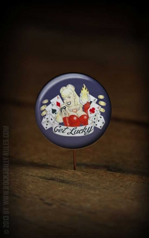 Button Lady Luck 162