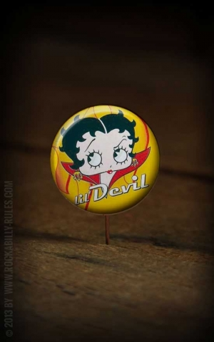 Button Betty Boop 190