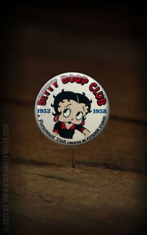 Button Betty Boop 196
