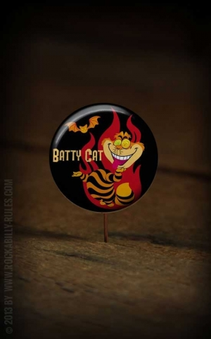 Button Bat Kitty 213