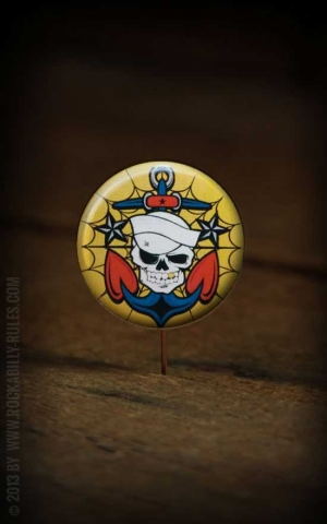 Button Anchor Skull 216