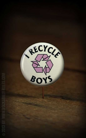 Button Recycle Boys 223