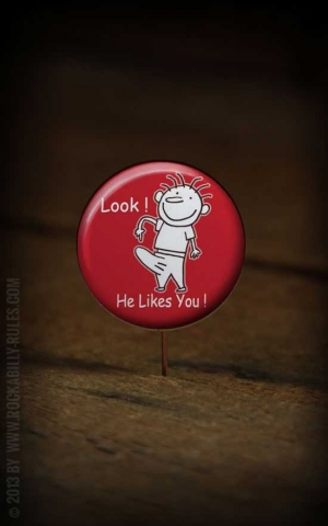 Button He Likes You 227
