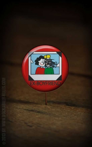 Button Ex-Boyfriend 229