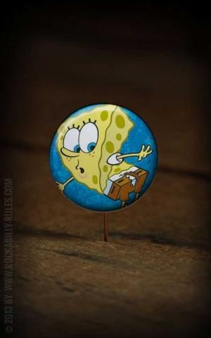Button Sponge Bob 237
