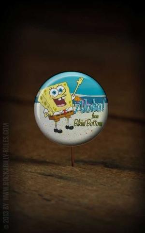 Button Sponge Bob 241