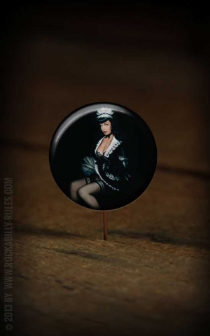 Button Bettie Page 246