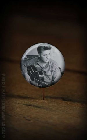 Button Elvis 257