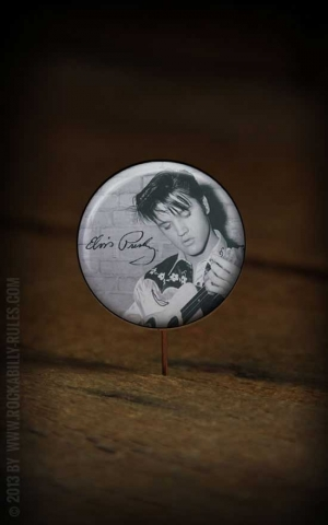 Button Elvis 258