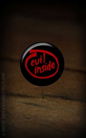 Button Evil Inside 262