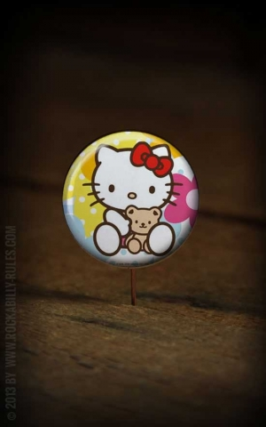 Button Hello Kitty 266