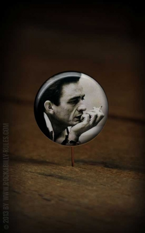 Button Johnny Cash - 277