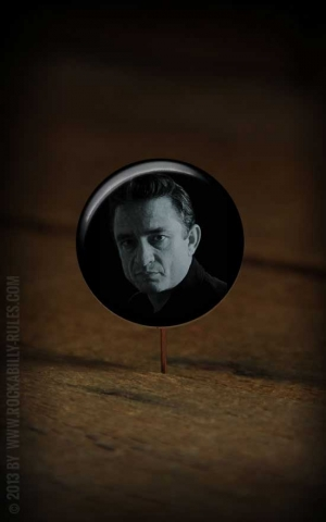 Button Johnny Cash - 286