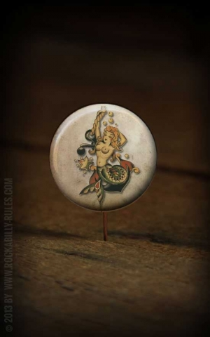 Button Mermaid- 296