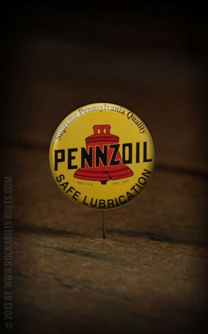 Button Pennzoil - 304