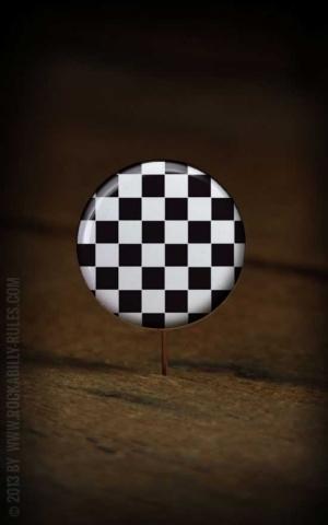 Button Checkered - 308