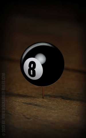 Button Eightball - 315