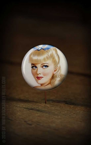Button PinUp - 318