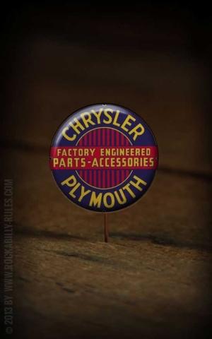 Button Plymouth - 323