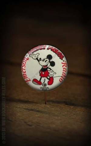 Button - Micky Radio - 346