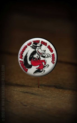 Button - Big Bad Wolf - 354