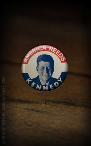 Button - J.F. Kennedy 2 - 355