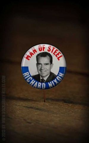 Button - Richard Nixon - 357