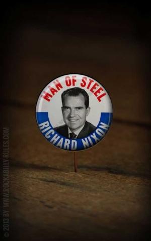 Button - Richard Nixon - 357