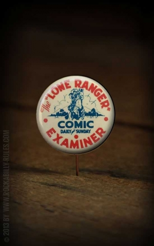 Button - Lone Ranger - 358