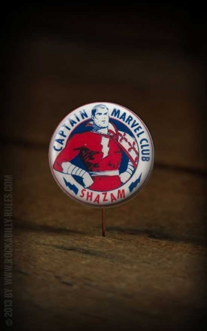 Button - Captain Marvel - 359