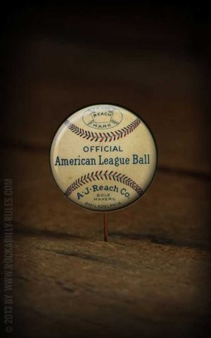 Button - League Baseball - 361