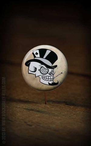 Button Skull 056