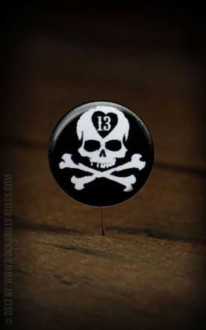 Button skull  061