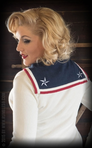 Rumble59 Ladies - Cardigan - Sailors Maid